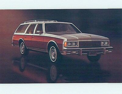 Unused 1977 car dealer ad postcard CHEVROLET CAPRICE STATION WAGON o8161