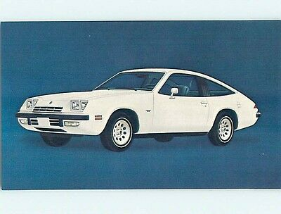Unused 1975 car dealer ad postcard CHEVROLET MONZA 2+2 CAR o8181