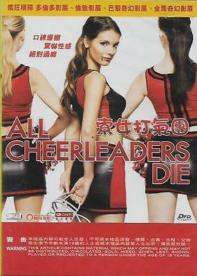 All Cheerleaders Die DVD Sidney Allison Charon R. Arnold Shay Astar NEW R3