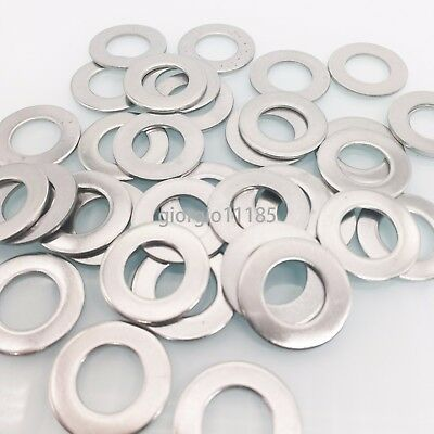 50 pcs M12 12mm 304 Stainless Steel Metric Flat Washer Washers New