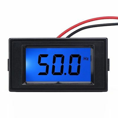 US Stock 10Hz-199.9Hz Digital LCD Display Frequency Panel Meter Gauge AC 80-300V