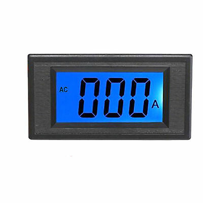 New Blue LCD Digital AMP Current Panel Meter Ammeter AC 100A & Shunt