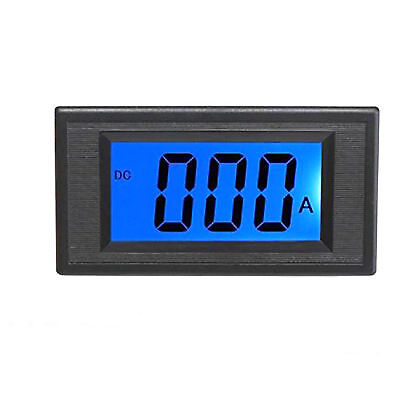 US Stock Blue LCD Digital AMP Current Panel Meter Ammeter DC 500A & Shunt