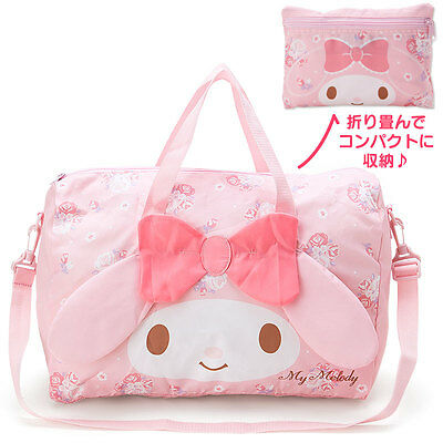 My melody Face Folding Boston bag F/S Worldwide SANRIO from JAPAN