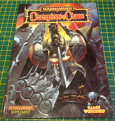 CHAMPIONS OF CHAOS - Warhammer Supplement - Games Workshop 1998
