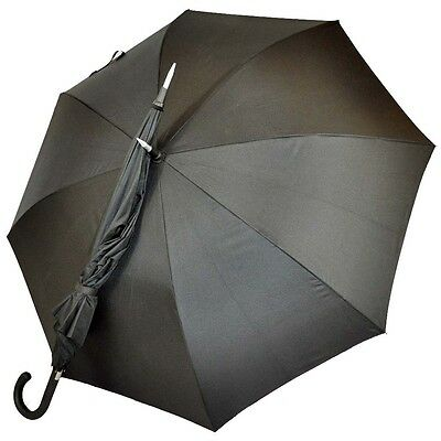 The Indestructible Umbrella Carbon Fiber Walking Stick Curved Handle Defense
