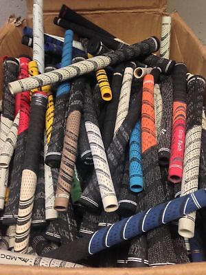 seconds New Set of 9  Dual Compound Golf Grips