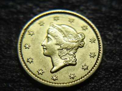 1851 $1.00  Ty 1  U.s. Gold Pc...  Sharp.. Detail - Eye Appeal And Luster