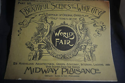 1893 Beautiful Scenes of the White City - Chicago Exposition, Part VII