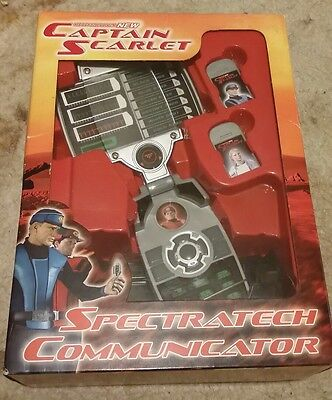 New Captain Scarlet Spectratech communicator