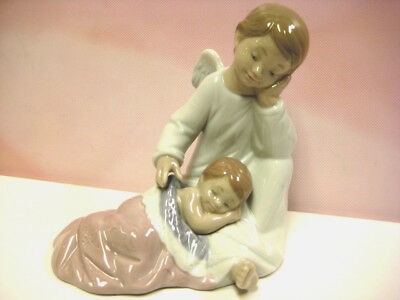 My Guardian Angel Girl Pink By Lladro   #8549