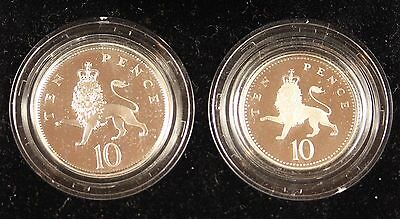 **1992** Great Britain, 10 Pence Proof Set**