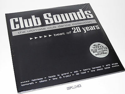 4 LP: Club Sounds – Best Of 20 Years, Limited Edition, NEU & OVP (A7/2)