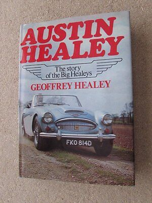 Signed Book by DONALD HEALEY, Founder of Austin Healey Auto *Autographed*