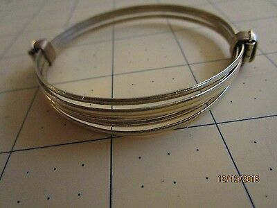 Two or 2 knot African Elephant hair style Bracelet light