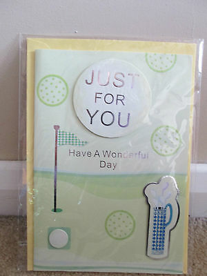 Golf Birthday Card (Just for You)