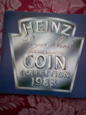 Royal Mint Uncirculated Coin Collection 1983