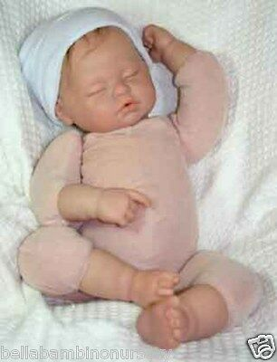 """DoE SuEde DoLL BoDy for 20"""" 1/4 LiMbS ~ REBORN DOLL SUPPLIES"""