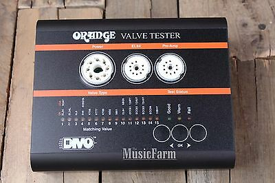 Orange Amplifiers Compact Electric Guitar Valve Amp Amplifier Tube Tester