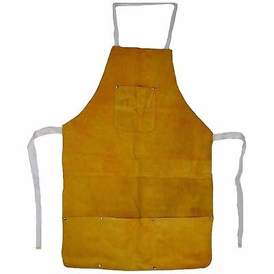 CHICAGO ELECTRIC 45193  Split Leather Welding Apron for Shop Grinding etc [J1-4]