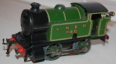 Hornby O Gauge Type 101 Loco In Lner Green Livery