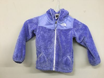 The North Face Girls Toddler 4T Purple Winter Hooded Jacket