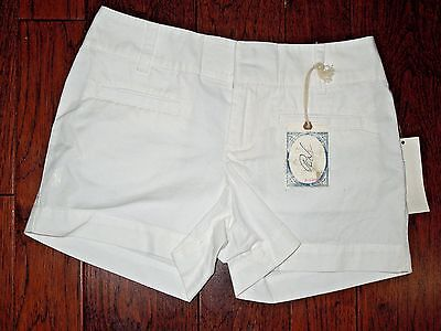 Polo by Ralph Lauren girls white cotton Shorts  w/ Pony youth size 10