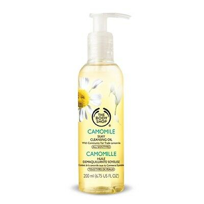 The Body Shop Camomile Silky Cleansing Oil 200ml