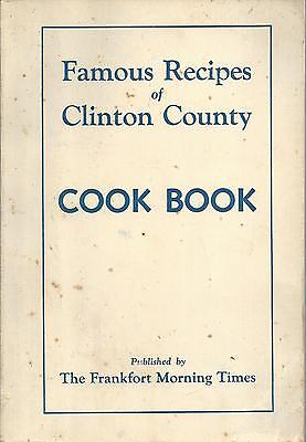 Frankfort In 1961 Morning Times Readers Cook Book * Clinton County Recipes *rare