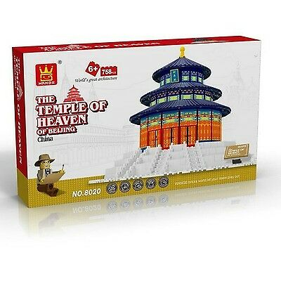 FireBeast Beijing Temple of Heaven Blocks 1511 Pcs Set in Huge Gift Box !! Co...