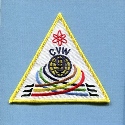 CVW-9 CARRIER AIR WING NINE US Navy Aircraft Carrier Squadron Jacket Patch