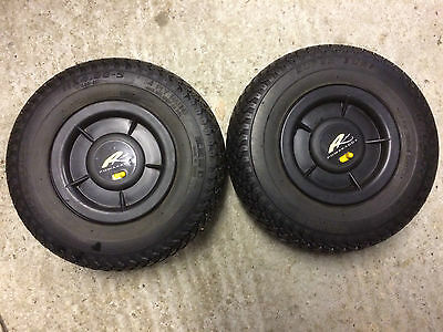 Powakaddy Winter wheels with Pneumatic tyres