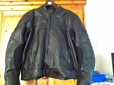 xl motorcycle leather jacket Built In Protection