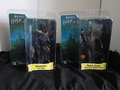 Wholesale Lot 7 Series 1 Harry Potter Figures,nib,death Eater,dementor.sirius...