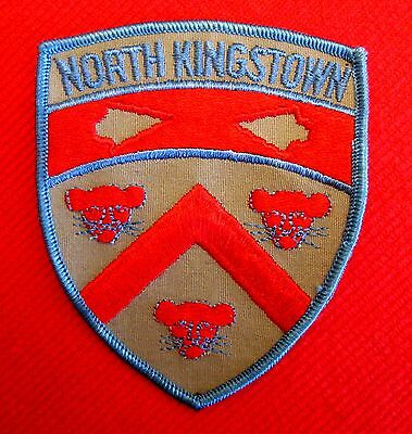 Old North Kingstown Police Patch Obsolete Rhode Island Police Patch lsu7