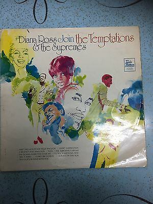 diana ross and the supremes join the temptations tamla motown 33rpm
