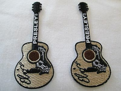 ELVIS PRESLEY  2 Guitar  Patches  New