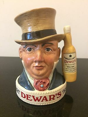 Royal Doulton Character Whiskey Holders Mr Micawber Dewars