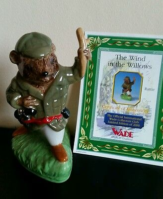 WADE - RATTIE from The Wind in the Willows set Limited Edition of 2000