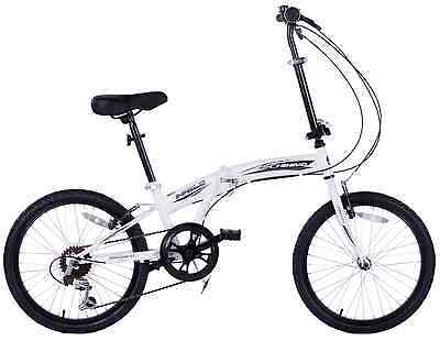 "Cheapest Compact Folding Cycle Bike City Folder Bicycle Boat 20"" Wheel 6 Speed"