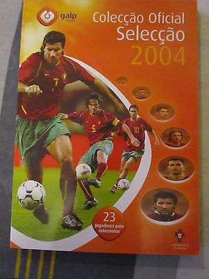 Euro 2004 Portugal discs in folder by GALP