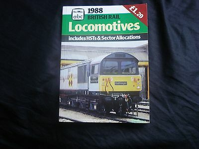 1988 Ian Allan Abc British Rail Locomotives / Hst