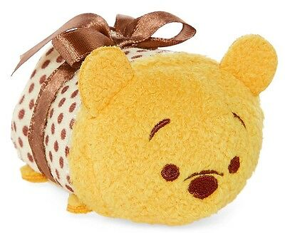 Disney Winnie The Pooh Valentines Tsum Tsum Mini 3 1/2 New With Tag