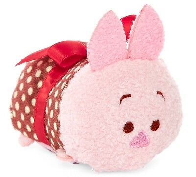 Disney Piglet Valentines Tsum Tsum Mini 3 1/2 New With Tag Winnie The pooh