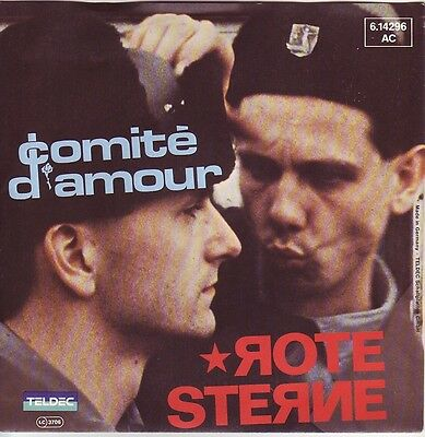 """""""7"""" - COMITE D´AMOUR - Rote Sterne"""