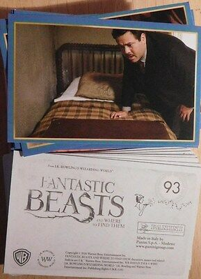 Panini FANTASTIC BEASTS AND WHERE TO FIND THEM stickers x 17  Harry Potter