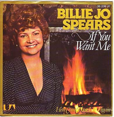 """""""7"""" - BILLIE JO SPEARS - If you want me"""