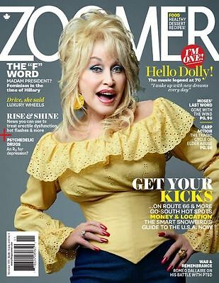Zoomer Magazine  - DOLLY PARTON - Nov 2016