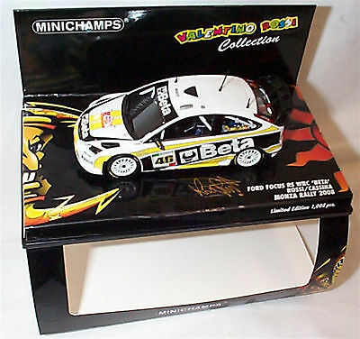 Ford Focus RS WRC Valentino Rossi Monza Rally 2008 ltd ed Mib 400088946