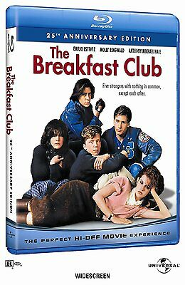 The Breakfast Club: 25th Anniversary Edition [Blu-ray, Region A, 1-Disc] NEW